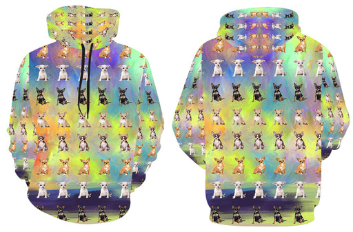 Paradise Wave Chihuahua Dogs All Over Print Kid's Hoodie