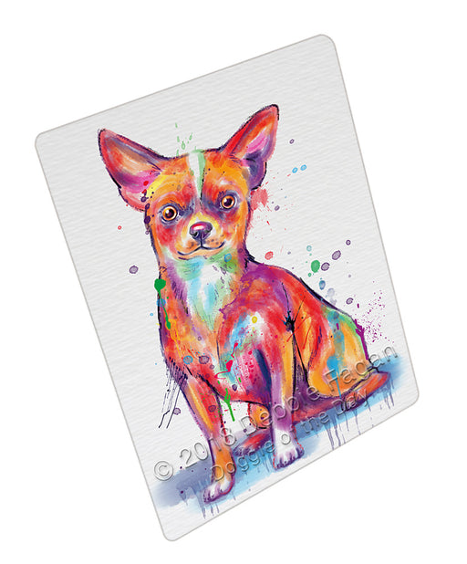 Watercolor Chihuahua Dog Refrigerator / Dishwasher Magnet RMAG104898