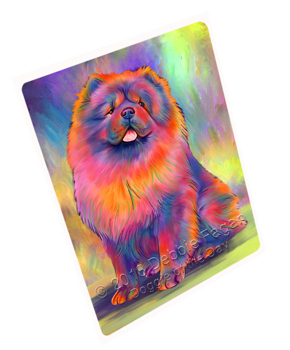 "Paradise Wave Chow Chow Dog Magnet MAG75246 (Small 5.5"" x 4.25"")"