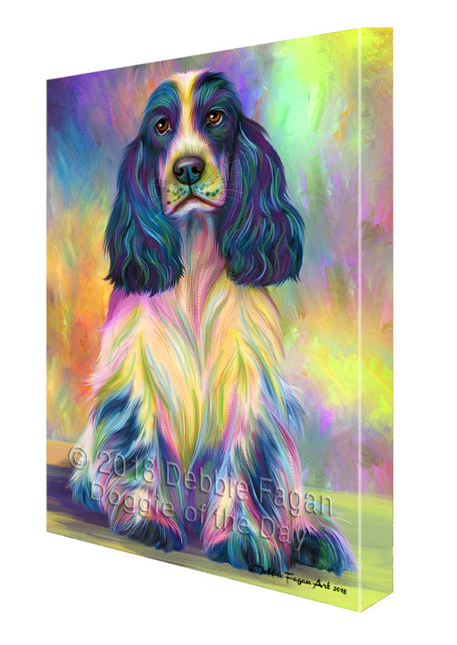 Paradise Wave Cocker Spaniel Dog Canvas Print Wall Art Décor CVS126809