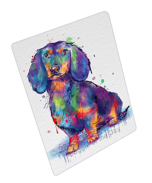 Watercolor Dachshund Dog Refrigerator / Dishwasher Magnet RMAG104916