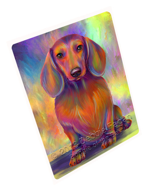 Paradise Wave Dachshund Dog Cutting Board C73335