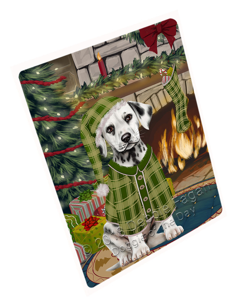 "The Stocking was Hung Dalmatian Dog Magnet MAG71034 (Mini 3.5"" x 2"")"