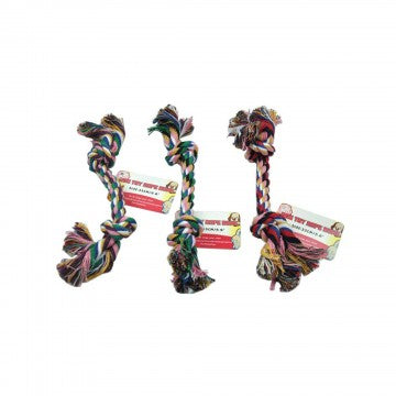 10 Multicolored Rope Dog Toys Wholesale DNSX