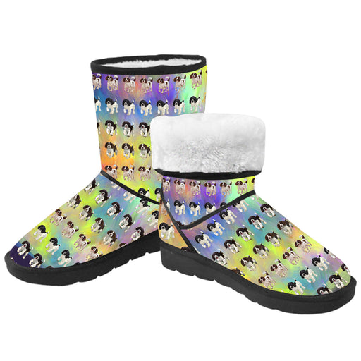 Paradise Wave English Spring Spaniel Dogs  Kid's Snow Boots
