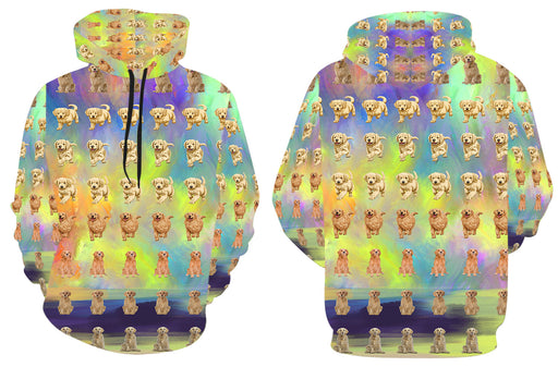 Paradise Wave Goldendoodle Dogs All Over Print Kid's Hoodie