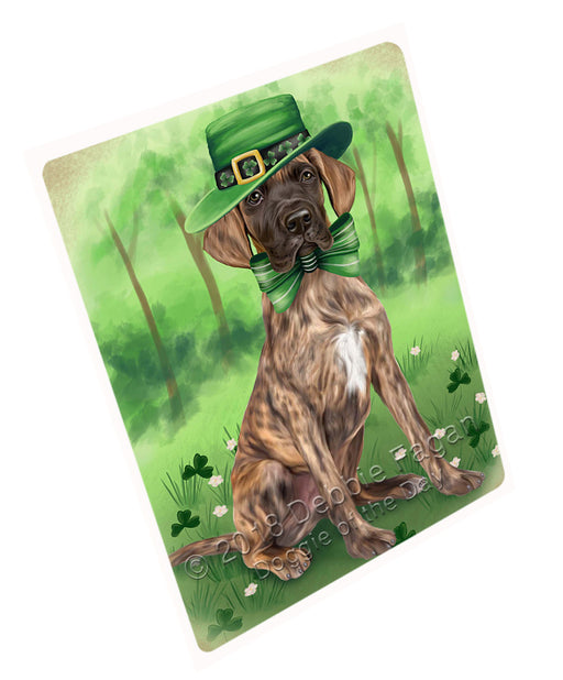 "St. Patricks Day Irish Portrait Great Dane Dog Magnet Mini (3.5"" x 2"") MAG50307 (Mini 3.5"" x 2"")"