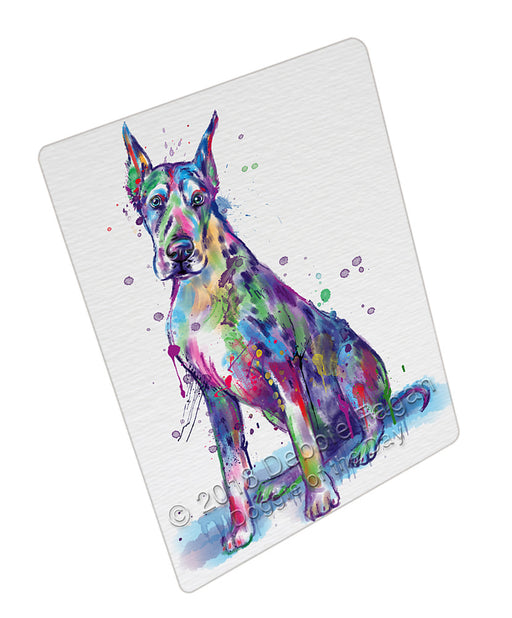 Watercolor Great Dane Dog Refrigerator / Dishwasher Magnet RMAG104940