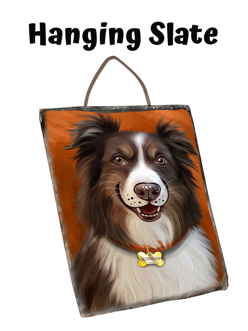 Add Your PERSONALIZED PET Painting Portrait on Hanging Photo Slate