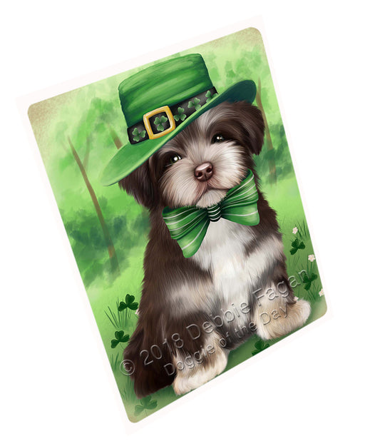 "St. Patricks Day Irish Portrait Havanese Dog Magnet Mini (3.5"" x 2"") MAG50319 (Mini 3.5"" x 2"")"