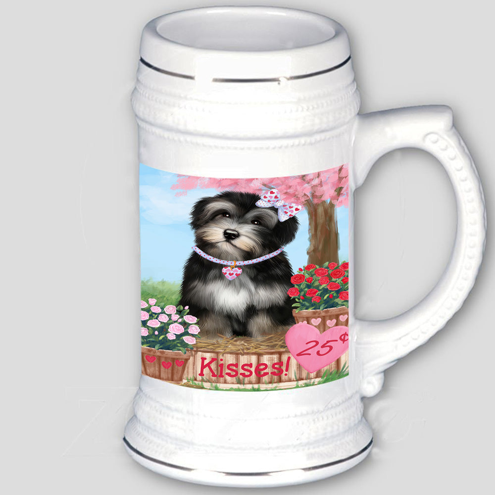 Rosie 25 Cent Kisses Havanese Dog Beer Stein BST53821