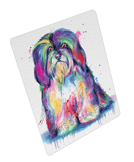 Watercolor Havanese Dog Refrigerator / Dishwasher Magnet RMAG105600