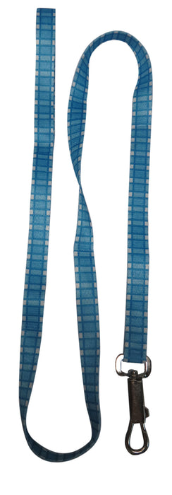 Blue Nylon Adjustable Dog Leash DNSX
