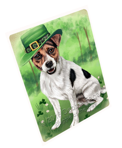 "St. Patricks Day Irish Portrait Jack Russell Terrier Dog Magnet Mini (3.5"" x 2"") MAG50328 (Mini 3.5"" x 2"")"