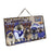 Happy Hanukkah Family and Happy Hanukkah Both Keeshond Dogs Wall Décor Hanging Photo Slate SLTH53388