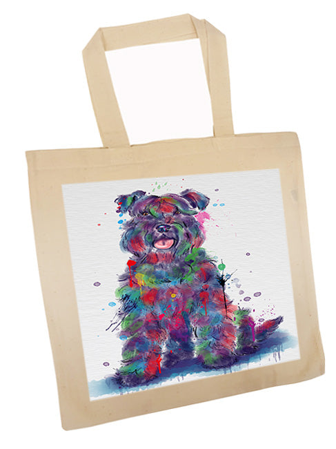 Watercolor Kerry Blue Terrier Dog Tote TTE57553