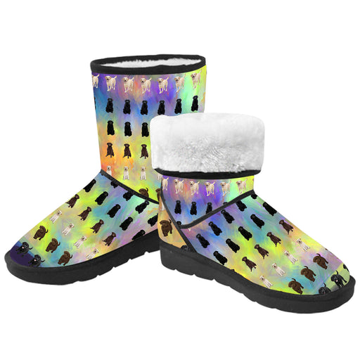 Paradise Wave Labrador Dogs  Kid's Snow Boots