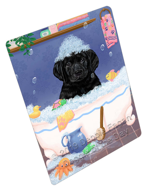Rub A Dub Dog In A Tub Labradors Dog Refrigerator / Dishwasher Magnet RMAG109296