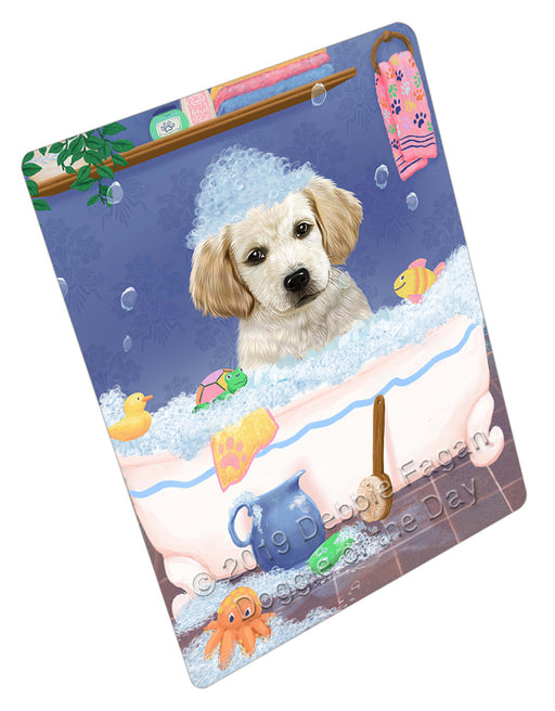 Rub A Dub Dog In A Tub Labradors Dog Refrigerator / Dishwasher Magnet RMAG109308