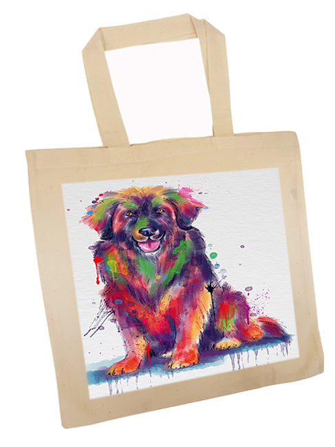 Watercolor Leonberger Dog Tote TTE57555