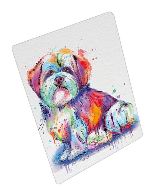 Watercolor Malti Tzu Dog Refrigerator / Dishwasher Magnet RMAG104964