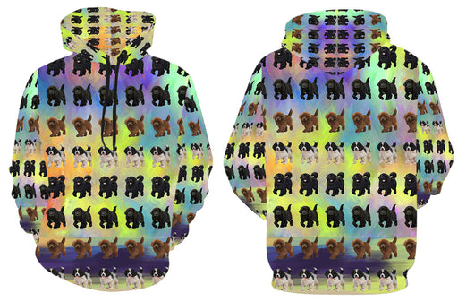 Paradise Wave Newfoundland Dogs All Over Print Kid's Hoodie