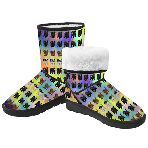 Paradise Wave Newfoundland Dogs  Kid's Snow Boots