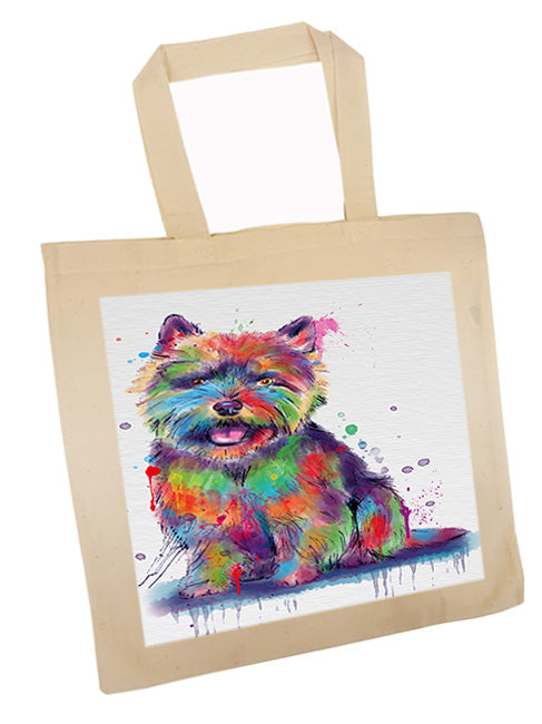 Watercolor Norwich Terrier Dog Tote TTE57557