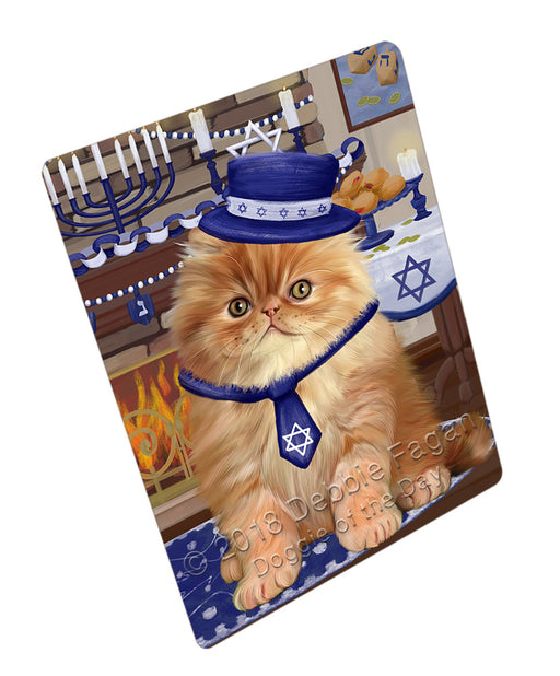 Happy Hanukkah  Persian Cats Refrigerator / Dishwasher Magnet RMAG109896