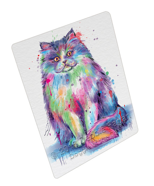 Watercolor Persian Cat Refrigerator / Dishwasher Magnet RMAG105648