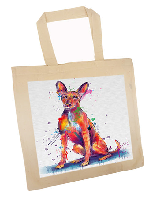 Watercolor Pharaoh Hound Dog Tote TTE57560