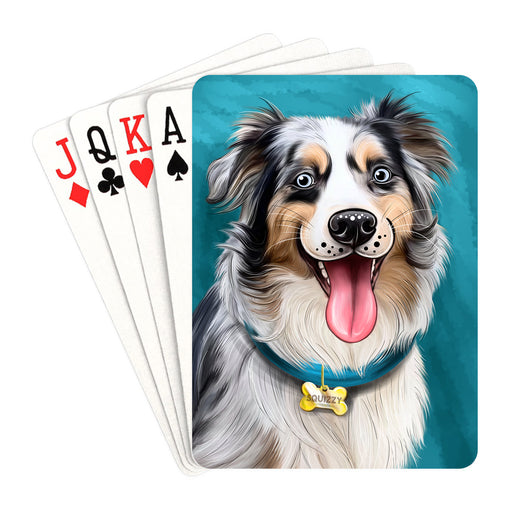 Add Your PERSONALIZED PET Painting Portrait on Playing Card Decks