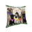 Spring Dog House Pugs Dog Pillow PIL56848