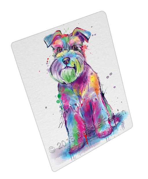 Watercolor Schnauzer Dog Refrigerator / Dishwasher Magnet RMAG105018