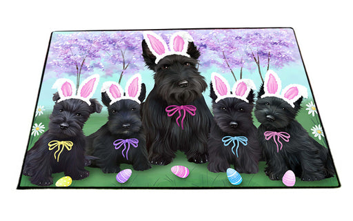 Scottish Terriers Dog Easter Holiday Floormat FLMS49653