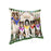 Spring Dog House Shetland Sheepdogs Pillow PIL56376