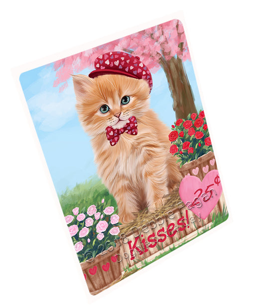 "Rosie 25 Cent Kisses Siberian Cat Magnet MAG73846 (Mini 3.5"" x 2"")"