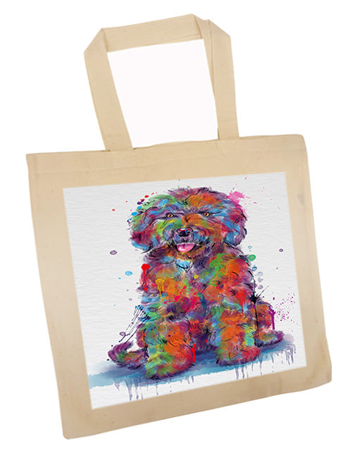 Watercolor Spanish Water Dog Tote TTE57565