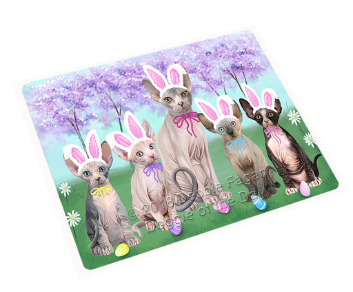 Easter Holiday Sphynx Cats Large Refrigerator / Dishwasher Magnet RMAG104016