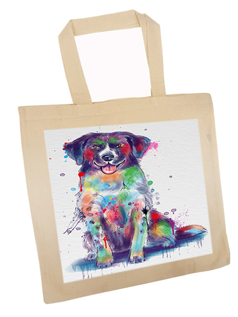 Watercolor Stabyhoun Dog Tote TTE57567