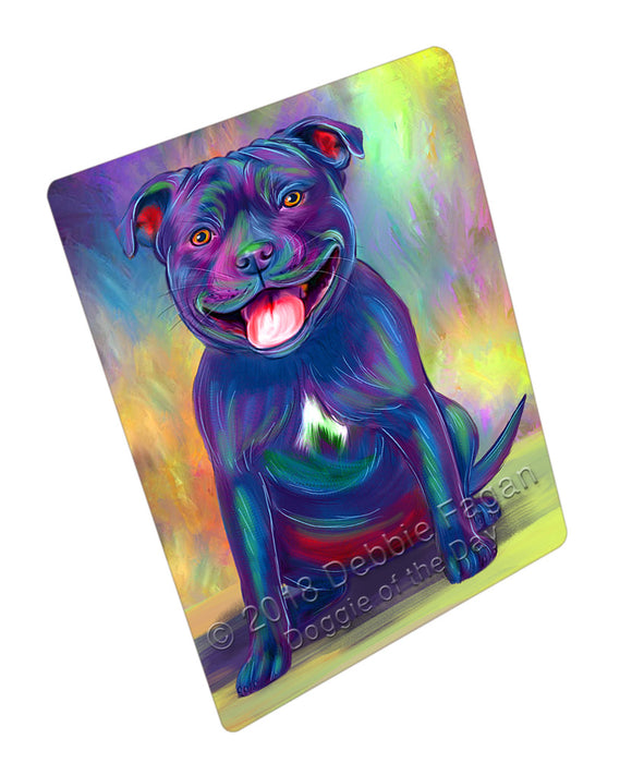 Paradise Wave Staffordshire Bull Terrier Dog Refrigerator / Dishwasher Magnet RMAG110124