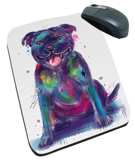 Watercolor Staffordshire Bull Terrier Dog Mousepad MPD57568