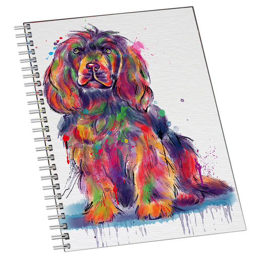 Watercolor Sussex Spaniel Dog Notebook NTB55751