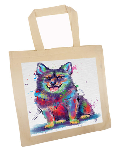 Watercolor Swedish Vallhund Dog Tote TTE57570