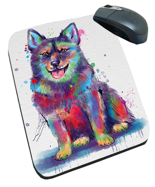 Watercolor Swedish Vallhund Dog Mousepad MPD57570