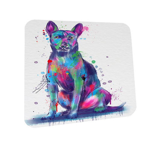 Watercolor Thai Ridgeback Dog Coasters Set of 4 CST57529