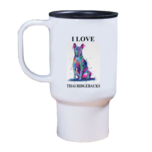 Watercolor Thai Ridgeback Dog Travel Mug TRAV52806