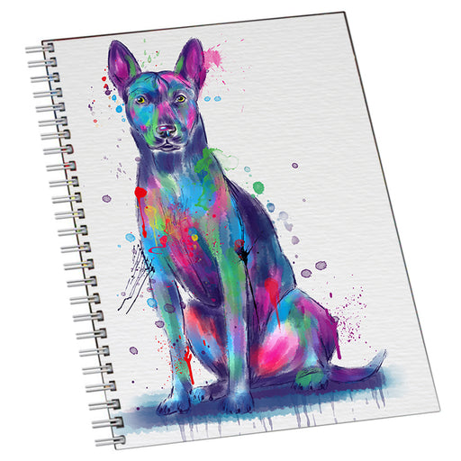 Watercolor Thai Ridgeback Dog Notebook NTB55753