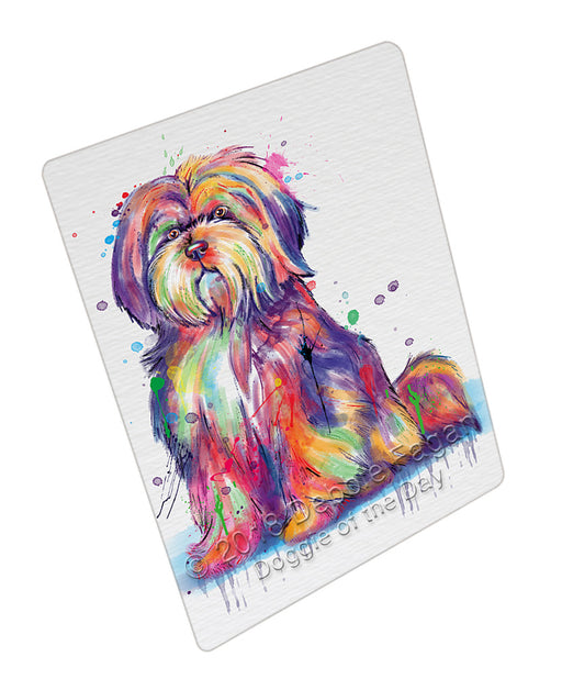 Watercolor Tibetan Terrier Dog Refrigerator / Dishwasher Magnet RMAG105072