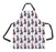 Watercolor Mini Tortoiseshell Cats Apron